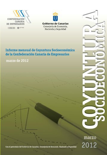 Marzo 2012 - Confederación Canaria de Empresarios