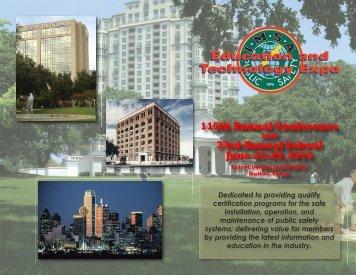 2010 Conference Brochure - IMSA