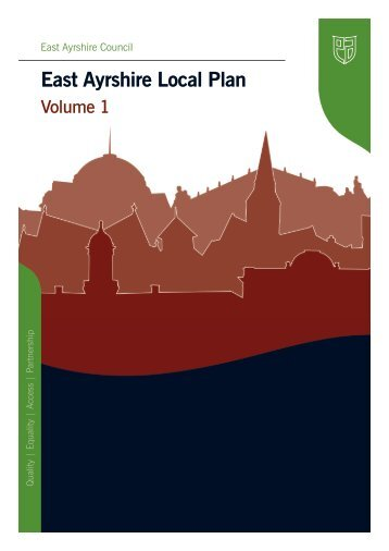 Local Plan 2010 Volume 1 - East Ayrshire Council