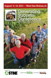 West Des Moines, IA Generating Success Conference