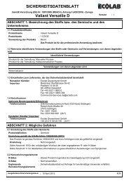 SICHERHEITSDATENBLATT Valiant Versatile D - ABS Deutschland ...