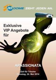 Exklusive VIP Angebote für - ISS Dome