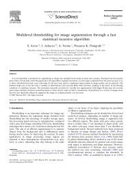 Multilevel thresholding for image segmentation through a fast ...