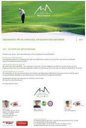 Unser Kursangebot zum Downloaden - Golfclub Kitzbüheler Alpen ...