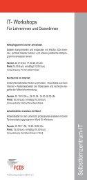 S elbstlernzentrum -IT - FCZB