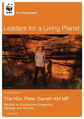 Leaders for a Living Planet - wwf - Australia