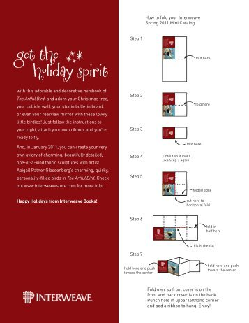 Get the holiday spirit - Interweave