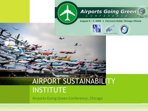 Center for Transportation and the Environment - Airports