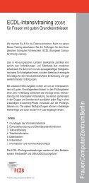 FrauenC om puterZentrum B erlin  - FCZB