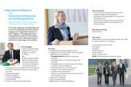 Berufsstart als Führungskraft - Finanzministerium NRW