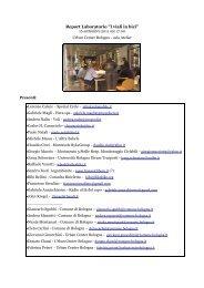 REPORT_lab. ciclo viali.pdf - Urban Center