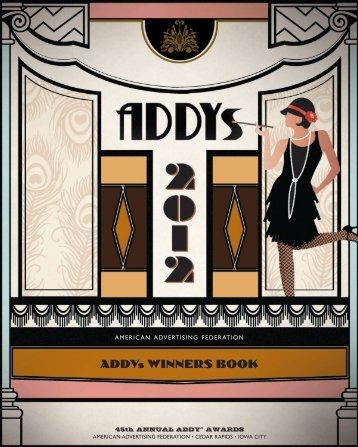 2012 Winners Book - American Advertising Federation: Cedar ...