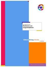 Realiseren van toegankelijkheid - Telfort