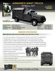 ARMORED SWAT TRUCK - Alpine Armoring Inc.