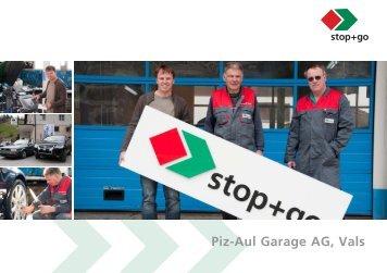 Piz-Aul Garage AG, Vals - sprüngli druck ag