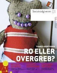 Socialrådgiveren nr. 1-2011 - Dansk Socialrådgiverforening