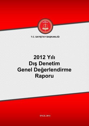 2012_Dış Denetim Genel Değerlendirme Raporu