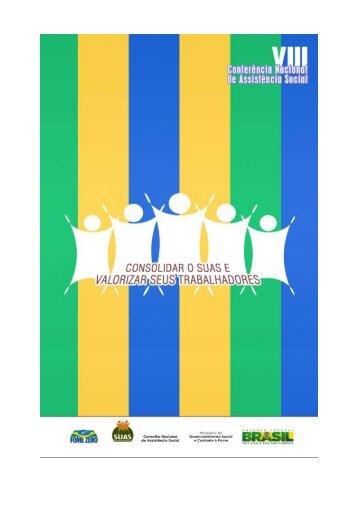 Conselho Nacional de Assistência Social (CNAS) - 1/82 - Ipea