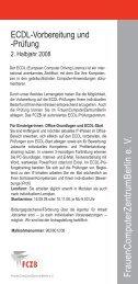 FrauenComputerZentrumBerlin e. V. - FCZB