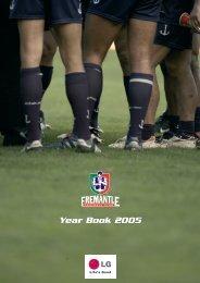 Year Book 2005 - Fremantle Football Club