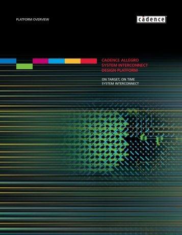 Allegro Platform Brochure - FlowCAD