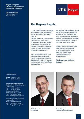 Der Hagener Impuls … - VHS-Studienreise.de