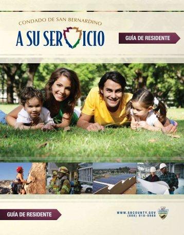 guía de Residente guía de Residente - San Bernardino County