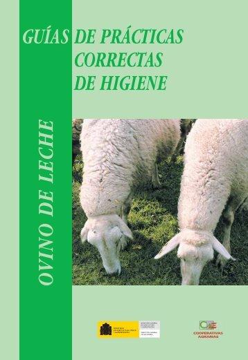 guías de prácticas correctas de higiene ovino de leche