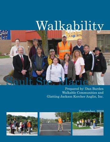 Walkability Audit - City of Sault Sainte Marie, Michigan