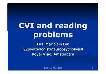 CVI and reading problems - Finish Web & Design
