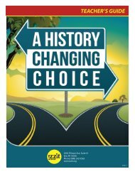 A History Changing Choice Teacher's Guide - Izzit.org