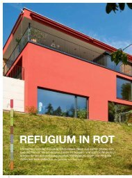 REfuGium in ROt - m3-Architekten AG