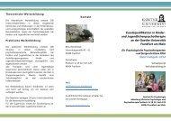 Vorlage Flyer 3-spaltig - Ausbildungsprogramm Kinder - Goethe ...