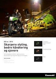 Klik her for PDF Spec. - KJ Motorcykler