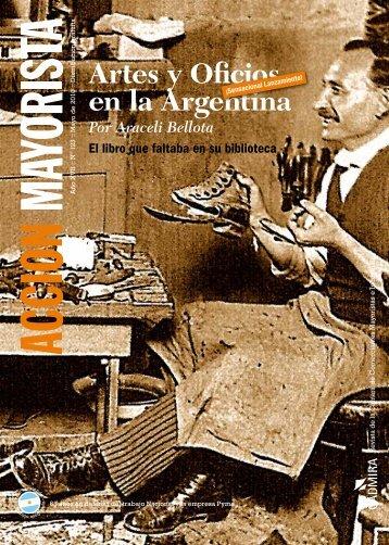 Artes y Oficios en la Argentina - CADMIRA