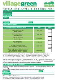Advertising rates and booking form for Conference Village Green.pdf
