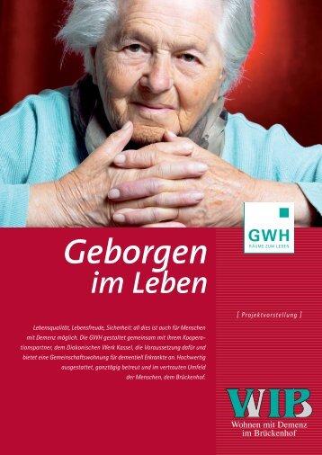 Prospekt Wohngemeinschaft WIB | 682 kB - Diakoniestationen Kassel