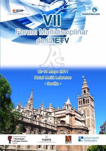 VII Fórum ETV - Sociedad Española de Medicina Interna