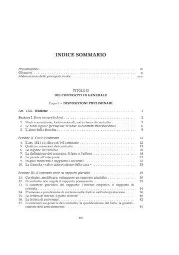 Contratto in generale - Giuffre