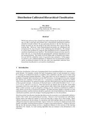Distribution-Calibrated Hierarchical Classification