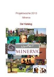 Projektwoche 2013 - Minerva Schulen Basel