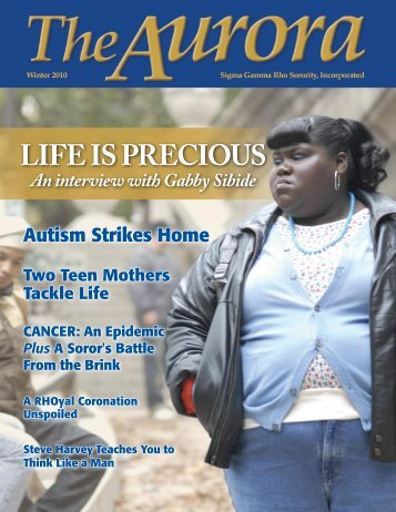 Life is Precious - Sigma Gamma Rho Sorority, Inc.