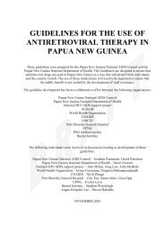 draft guidelines for the use of antiretroviral therapy in adults