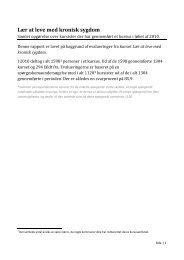 Opgørelse over kursister der har gennemført et kursus i løbet af 2010