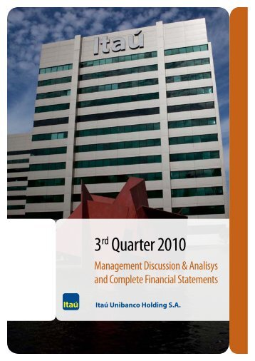 MD&A and Financial Statements (PDF) - Banco Itaú