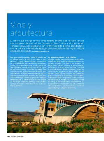 Vino y arquitectura - O. Fournier