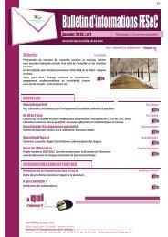 Janvier 2013 - Accueil fédération - SeGEC