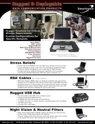 PDF - Rugged & Deployable Data Comm Products - Smartronix