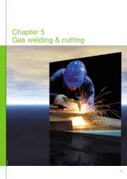 Chapter 5 Gas welding & cutting