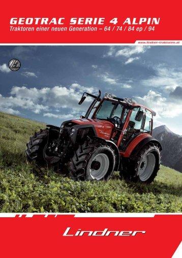 datenblatt - Lindner Traktoren